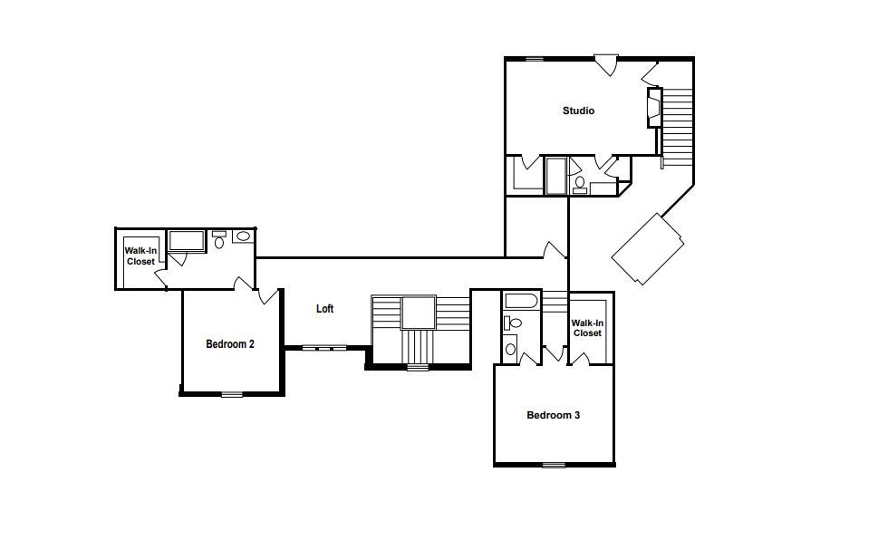 La Bella Vita Second Floor Plan