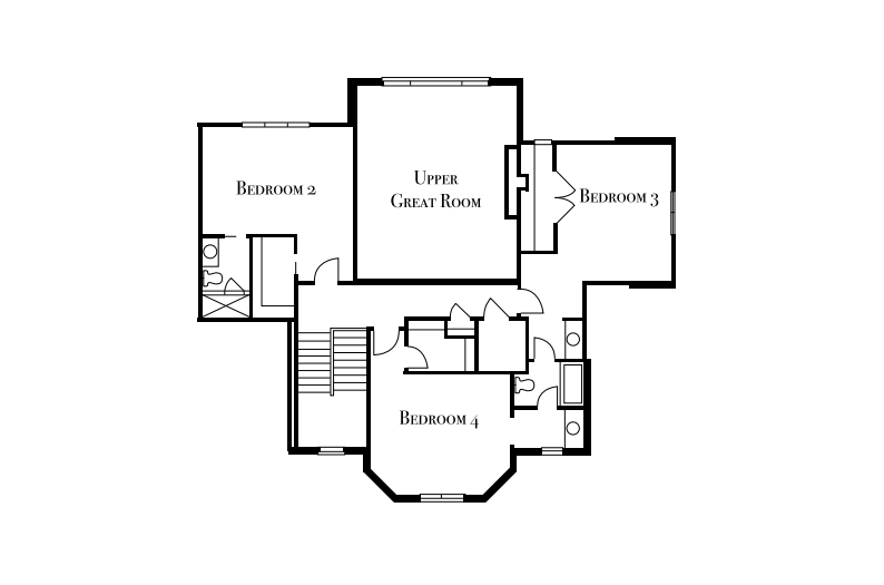 Sterling Homes: The Charlotte Second Floor